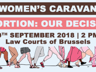 Women's Caravan. Abortion: our decision