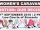 Women's Caravan. Abortion: our decision